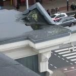 Schade dakconstructie